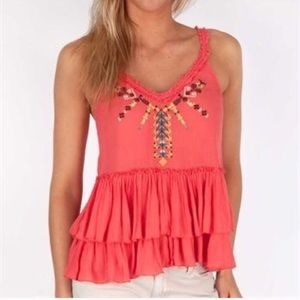 Like new Free People Meadow Ballerina Tank S
